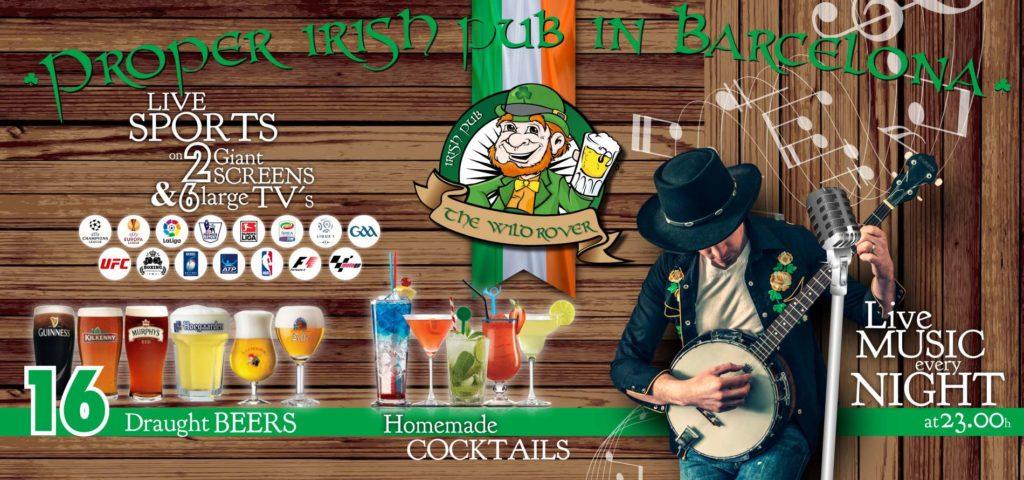 The Wild Rover Irish Pub